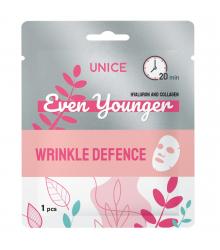 3409048 Unice Even Younger Kırışıklıklara Karşı Yüz Maskesi, 1 adet