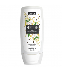 5616001 Unice Feature Pamuk Tohumu Yağı & Keratin Saç Kremi, 400 ml