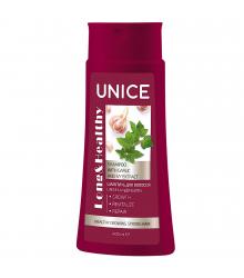 4701038 Unice Long & Healthy Sarmaşık+Sarımsak Özlü Şampuan, 400 ml