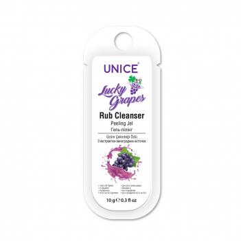 3407001 Unice Lucky Grapes Rub Cleanser Peeling Jel Saşe, 10 ml