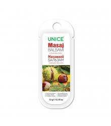 3414003 Unice At Kestanesi & Kafein Masaj Balsam, 10 ml