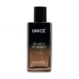3541359 UNICE BLACK Fuego EDT Erkek, 100 ml