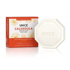 3605102 Unice Calendula (Aynısefa Özlü ) Katı Sabun, 100 g