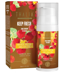 3609003 Thalia Keep Fresh Serisi Argan Oil & White Musk Yüz Kremi - 15 Spf, 50 ml