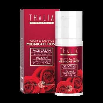 3609035 Thalia Natural Beauty Midnight Rose Arındırıcı ve Dengeleyici Yüz Kremi, 50 ml