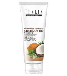 3609106 Thalia  Coconut Oil Besleyici ve Onarıcı Yüz Bakım Maskesi, 100 ml
