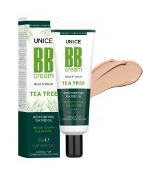 3642011 Unice Tea Tree (Çay Ağacı) BB Cream Light to Medium, 50 ml