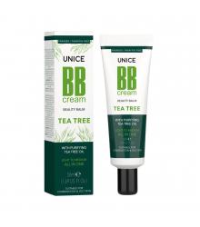 3642011 Unice Tea Tree (Çay Ağacı) BB Cream Light to Medium, 50 ml