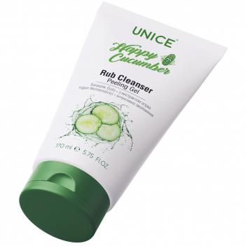 3409040 Unice Happy Cucumber Rub Temizleyici Peeling Jel, 170 ml